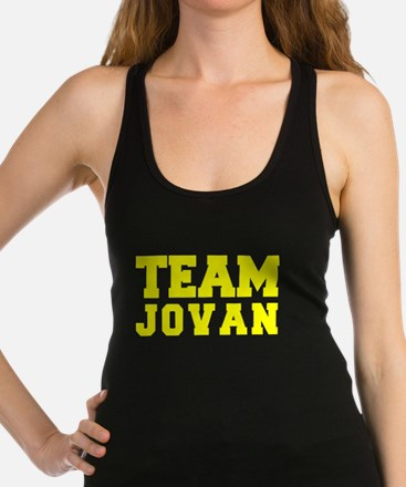 TEAM JOVAN Racerback Tank Top