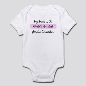 Worlds Greatest Genetic Couns Infant Bodysuit