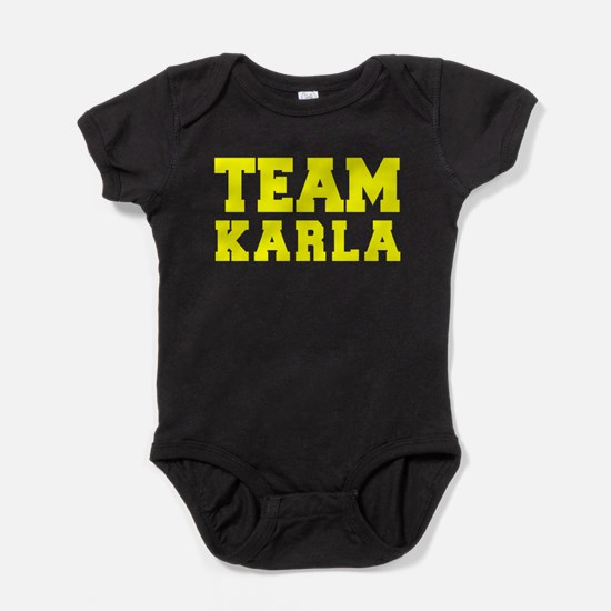 TEAM KARLA Baby Bodysuit