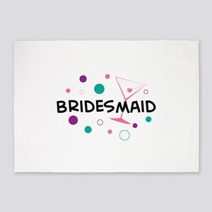 Bridesmaid 5'x7'Area Rug