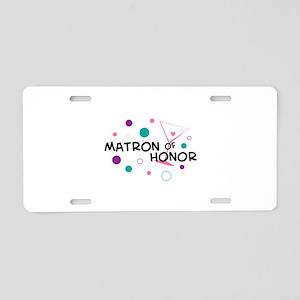 MATRON OF HONOR Aluminum License Plate