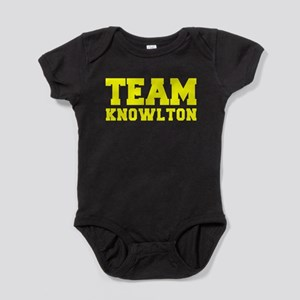 TEAM KNOWLTON Baby Bodysuit