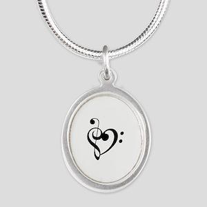 Treble Heart Necklaces
