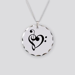 Treble Heart Necklace