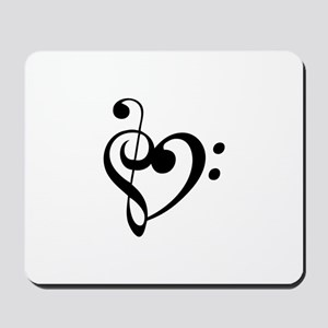 Treble Heart Mousepad