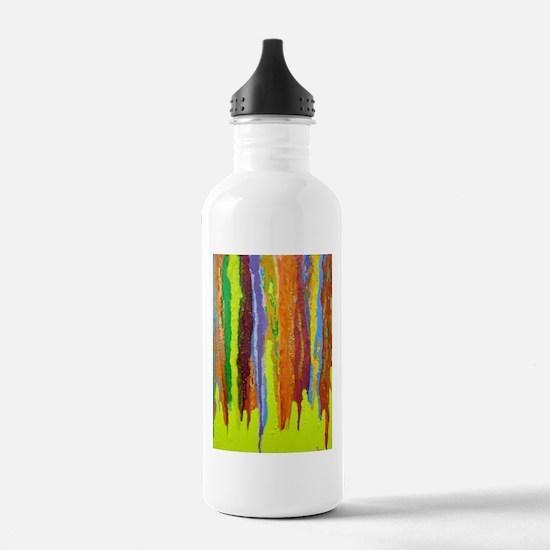 Paint Colors Water Bottle