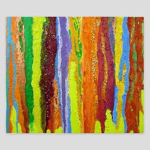 Paint Colors King Duvet
