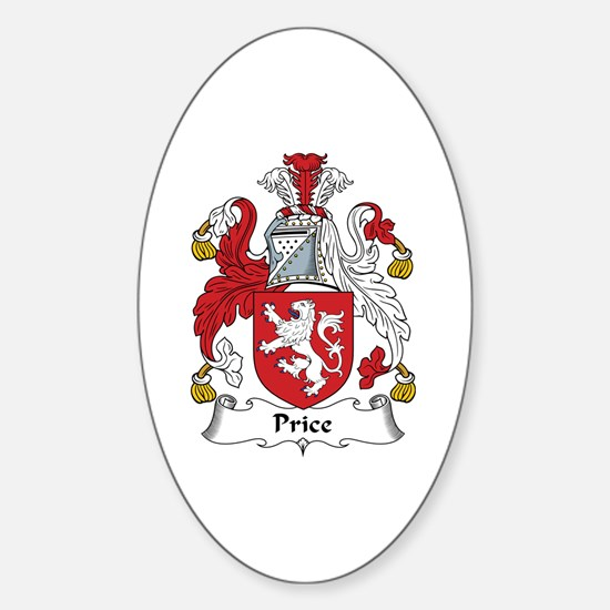 Price (Wales) Oval Decal