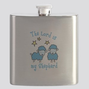 The Lord is my shepherd Flask