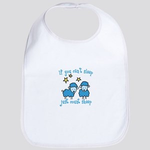 If you cant sleep just count sheep Bib