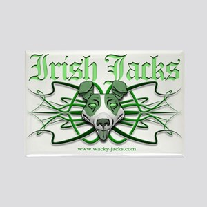 Irish Jack Tribal Rectangle Magnet
