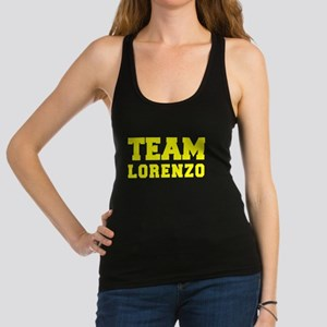 TEAM LORENZO Racerback Tank Top