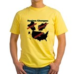 Regime Changes Yellow T-Shirt