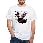 Regime Changes White T-Shirt