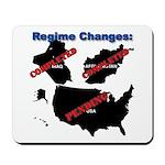 Regime Changes Mousepad