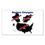 Regime Changes Sticker (Rect.)