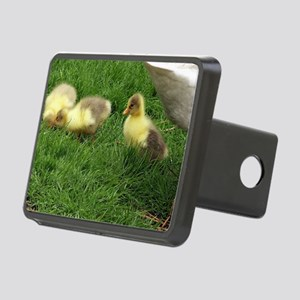 small geese children Rectangular Hitch Cover