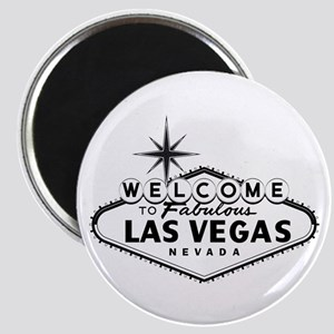 Welcome To Las Vegas Sign Magnets