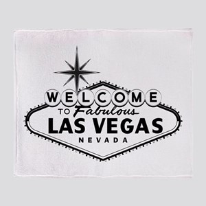 Welcome To Las Vegas Sign Throw Blanket