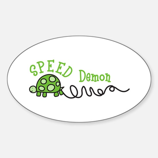 Speed Demon Decal