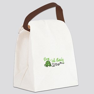 Slow... but Steady Canvas Lunch Bag