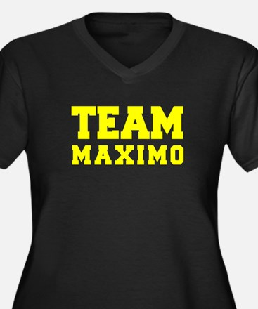 TEAM MAXIMO Plus Size T-Shirt