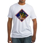 USS MARSHALL Fitted T-Shirt