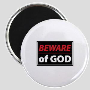 BEWARE OFGOD Magnets