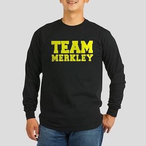 TEAM MERKLEY Long Sleeve T-Shirt