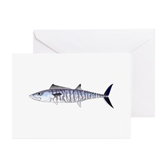 Narrow-barred Spanish Mackerel Greeting Cards