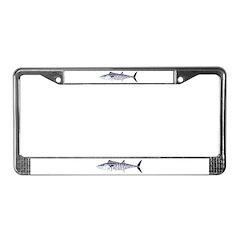 Narrow-barred Spanish Mackerel License Plate Frame