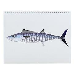 Tunas And Mackerels Wall Calendar