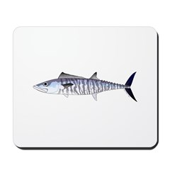 Narrow-barred Spanish Mackerel Mousepad