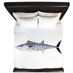 Narrow-barred Spanish Mackerel King Duvet