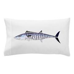 Narrow-barred Spanish Mackerel Pillow Case
