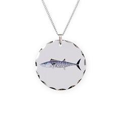 Narrow-barred Spanish Mackerel Necklace