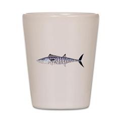 Narrowbarred Spanish Mackerel C Shot Glass