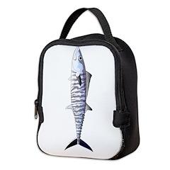 Narrowbarred Spanish Mackerel C Neoprene Lunch Bag
