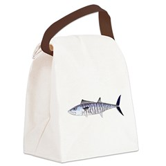 Narrowbarred Spanish Mackerel C Canvas Lunch Bag
