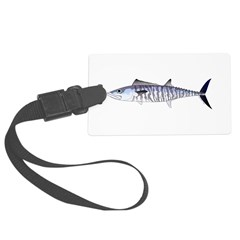 Narrowbarred Spanish Mackerel C Luggage Tag