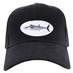 Narrowbarred Spanish Mackerel C Baseball Hat