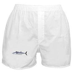 Narrowbarred Spanish Mackerel C Boxer Shorts