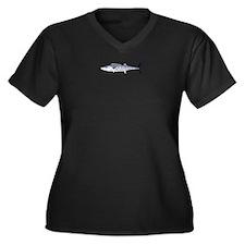 Narrowbarred Spanish Mackerel C Plus Size T-Shirt