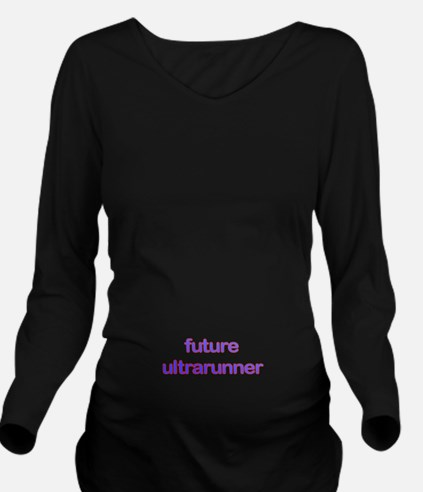 Future Ultrarun Redb Long Sleeve Maternity T-Shirt