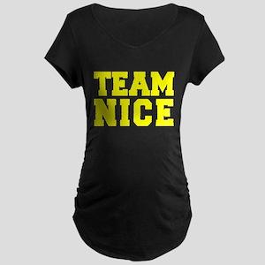 TEAM NICE Maternity T-Shirt
