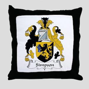 Simpson Throw Pillow