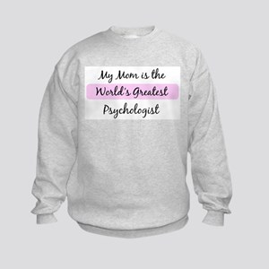 Worlds Greatest Psychologist Kids Sweatshirt