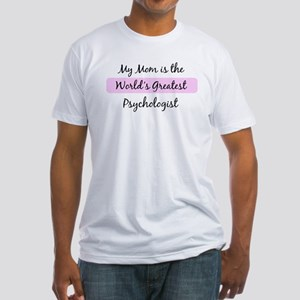 Worlds Greatest Psychologist Fitted T-Shirt