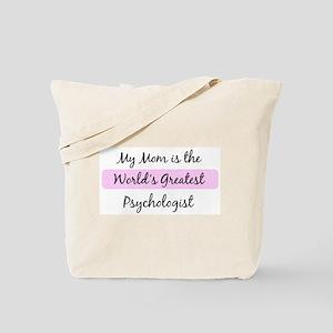 Worlds Greatest Psychologist Tote Bag