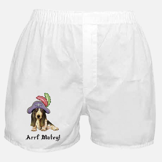 Basset Pirate Boxer Shorts